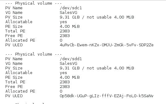 Linux - Disk Partitioning & Logical Volume Manager (LVM)   PTR