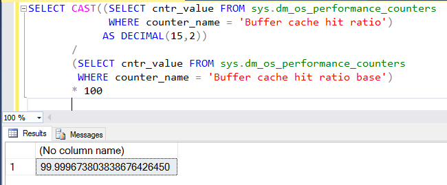 SQL Server - Monitoring Logical and Physical Reads & Buffer Cache